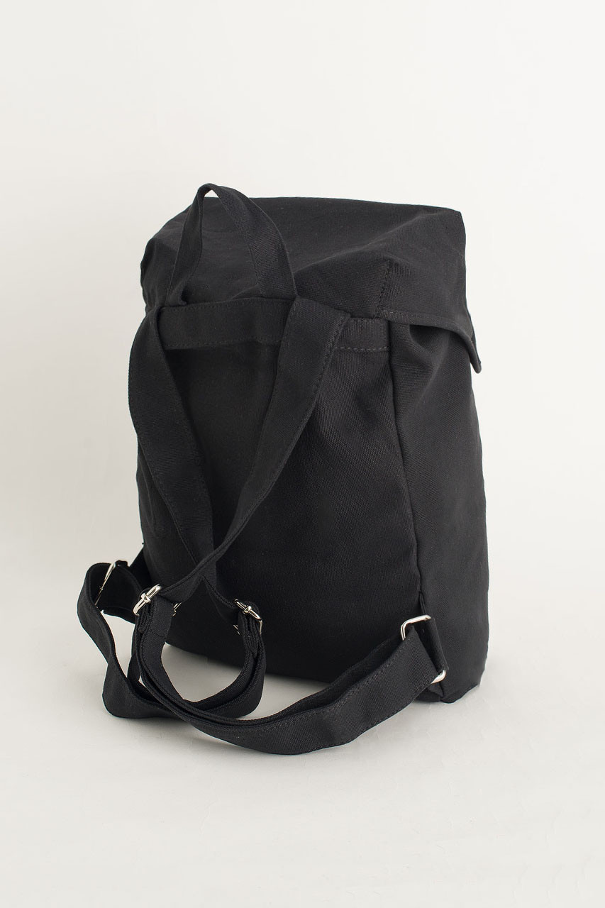 Canvas  Back Pack, Black