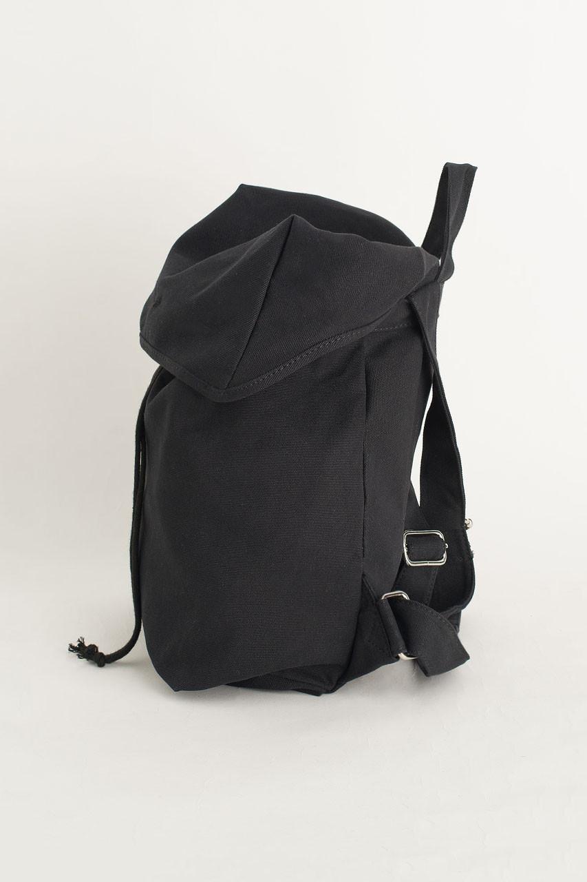 Canvas  Back Pack, Black