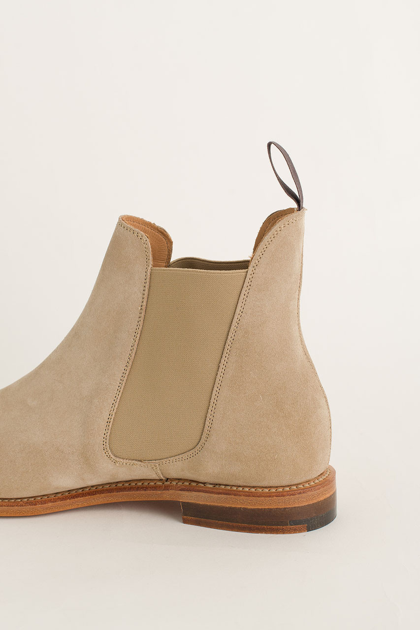 Chelsea Boot, Sand Suede