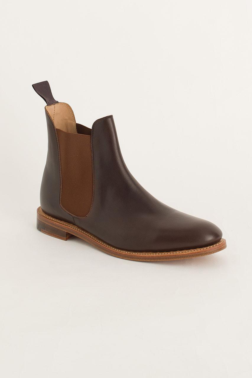 Chelsea Boot, Ebony Burnish