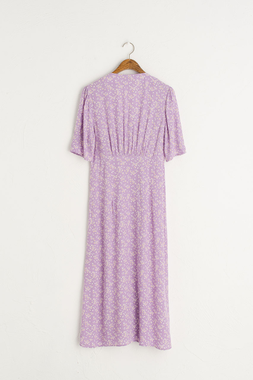 Verity Floral Dress, Violet