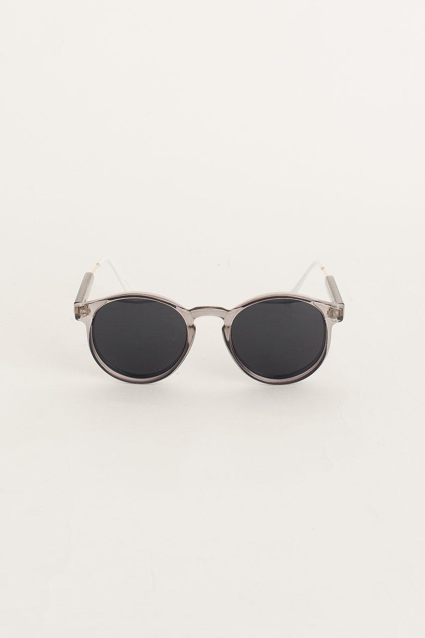 Miami Sunglasses, Dark Grey Transparent