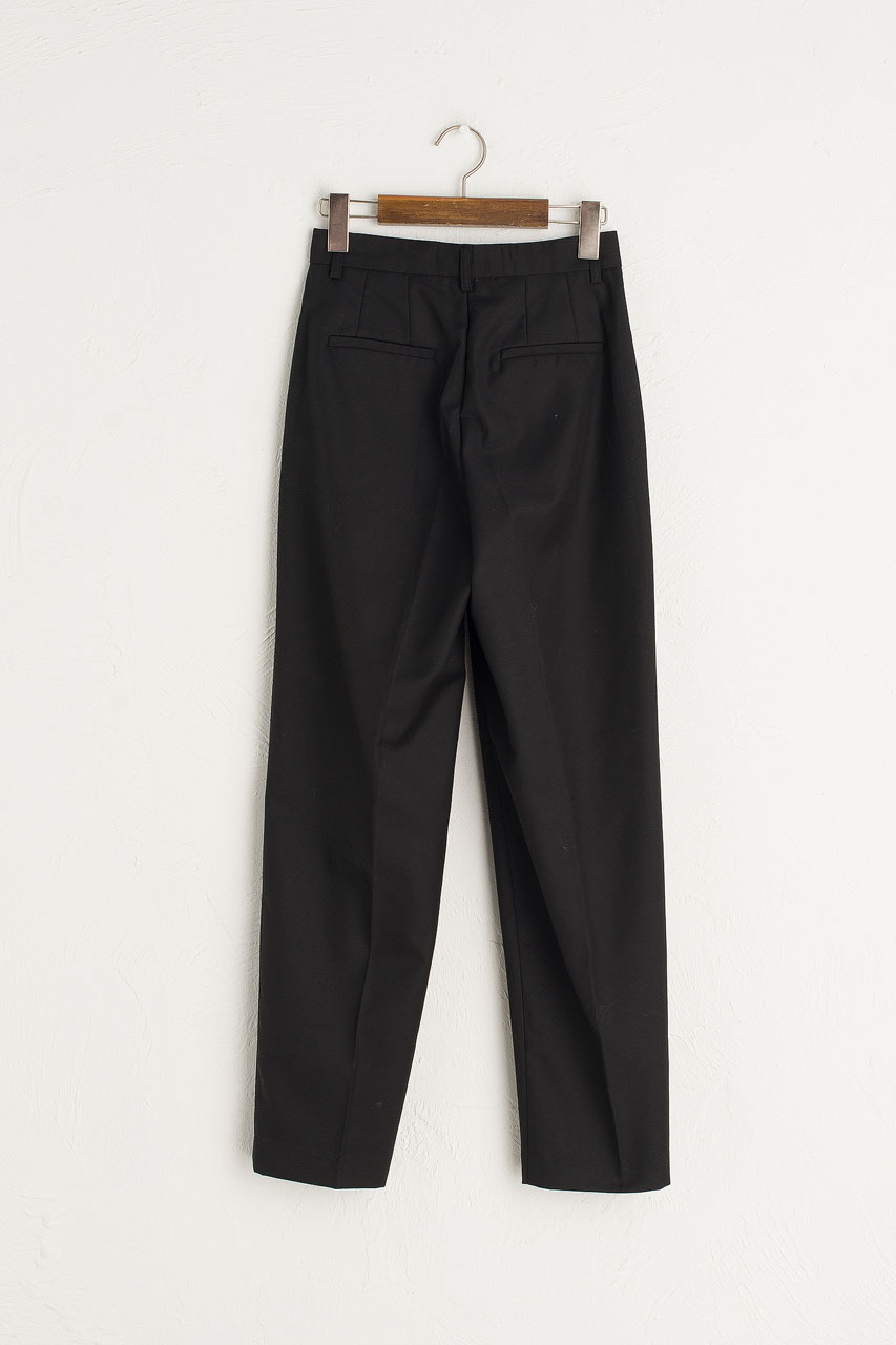 Sonya Tailored Trousers, Black
