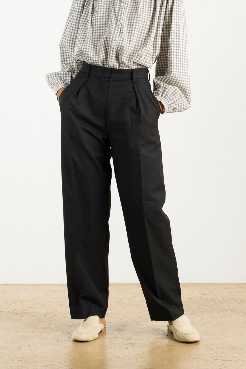 Sonya Tailored Trousers, Black