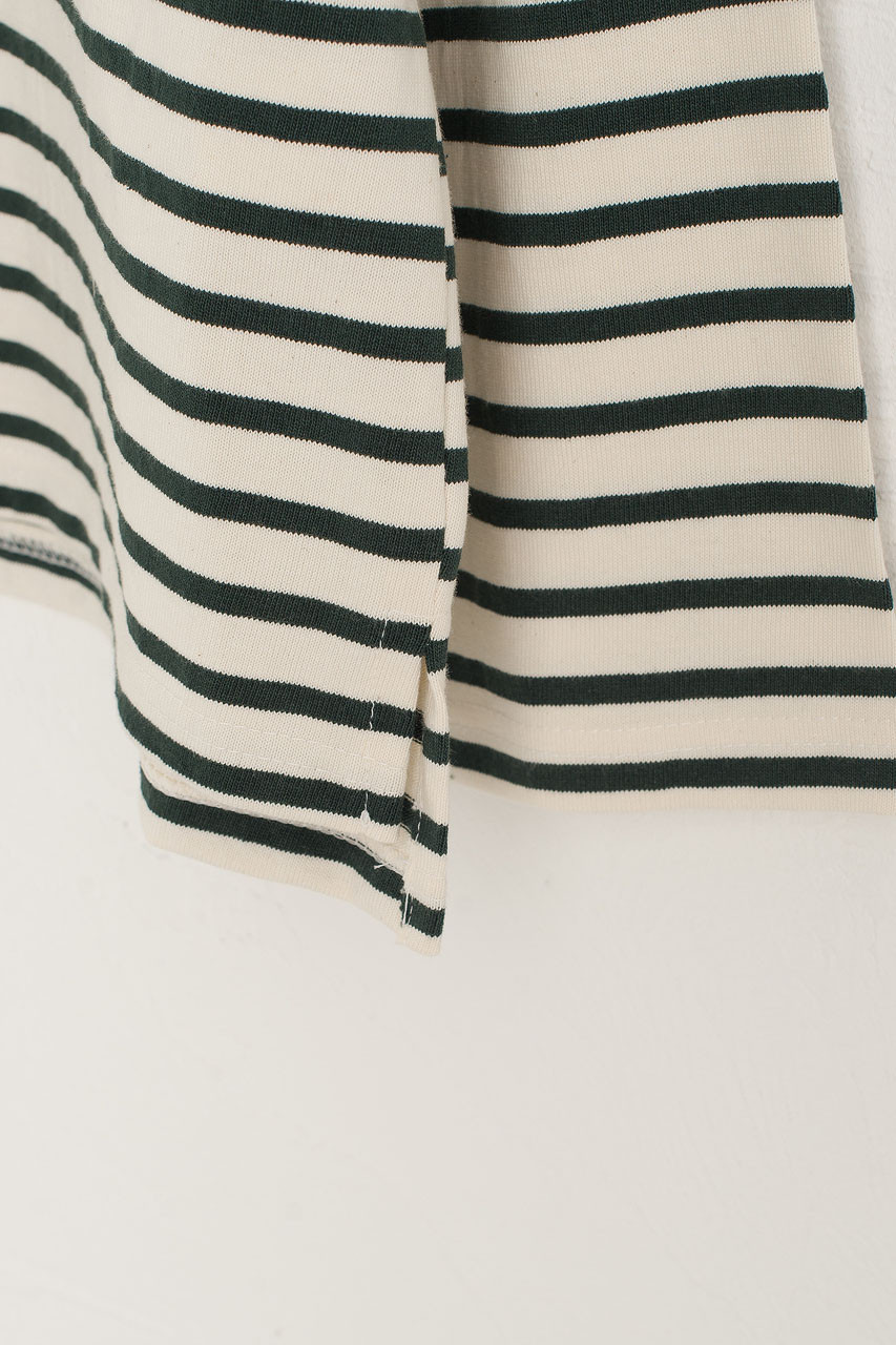 Sophie Stripe Tee, Green