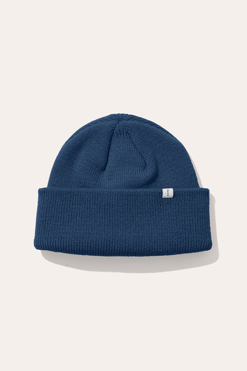 AW20 Simple Beanie, Royal Blue