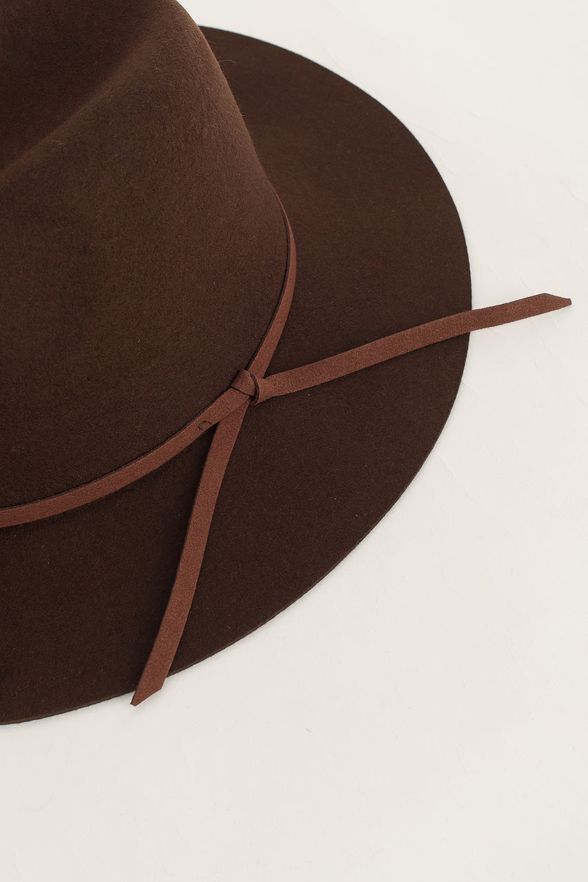 Felt Fedora, Brown
