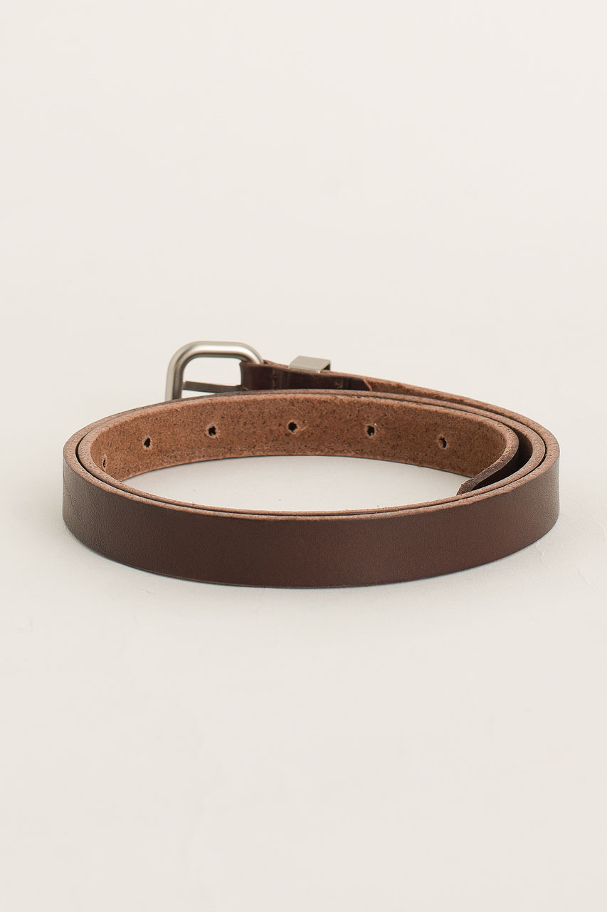 Jay Square Belt, Brown