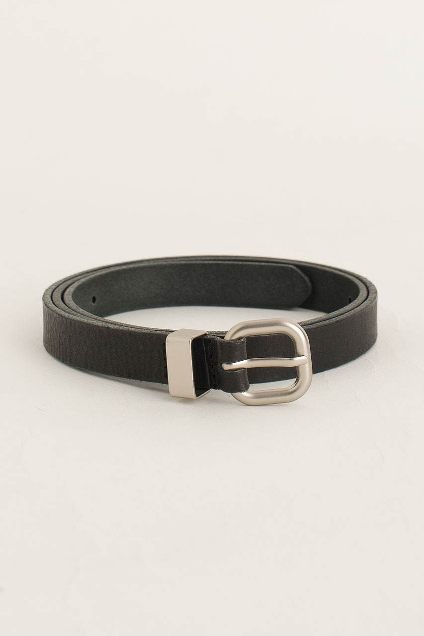 Jay Square Belt, Black