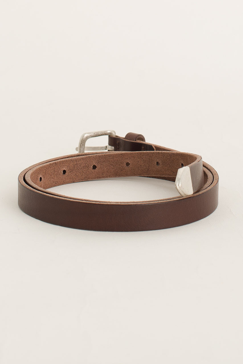 Rosa Leather Belt, Brown