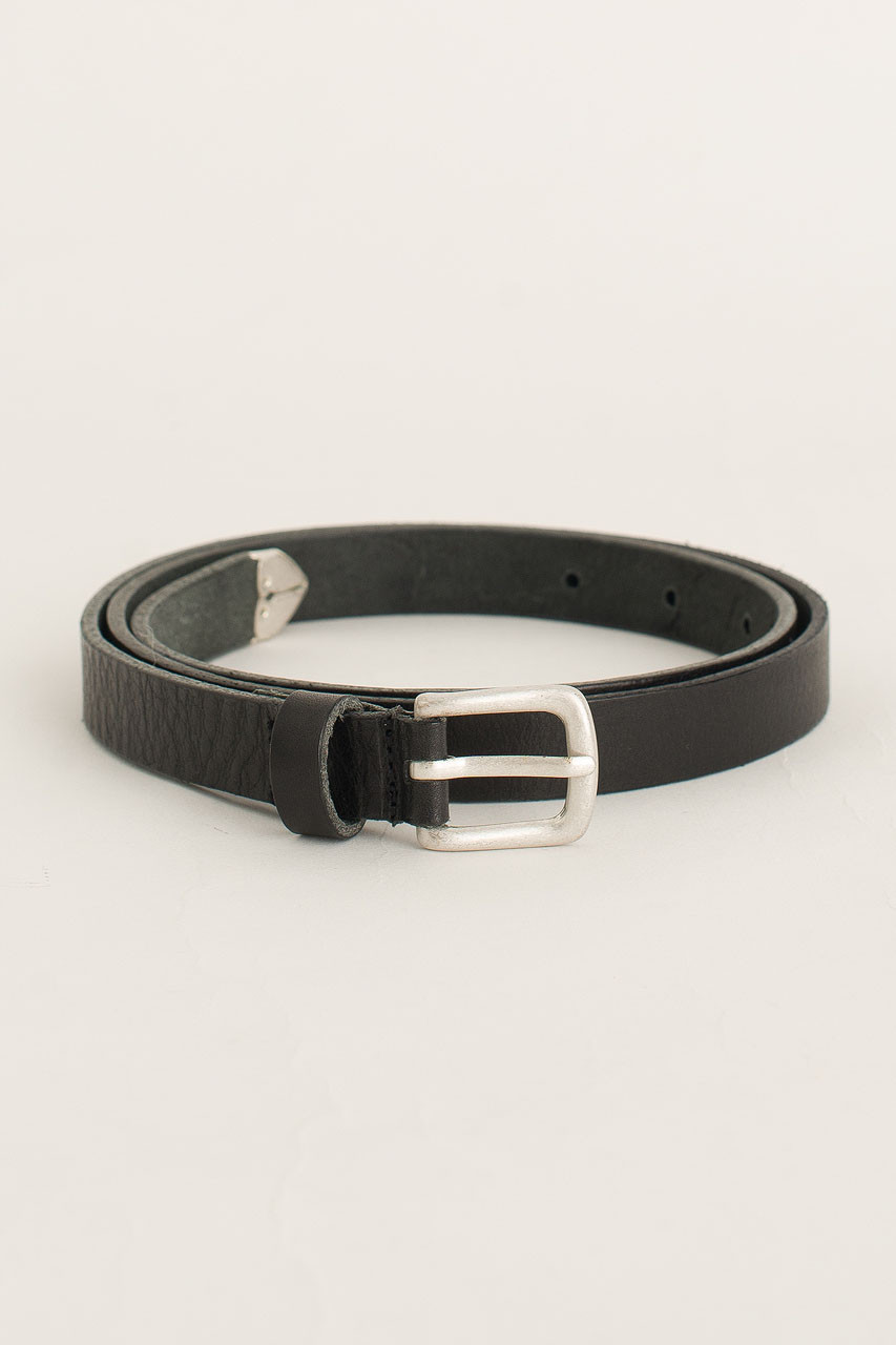 Rosa Leather Belt, Black