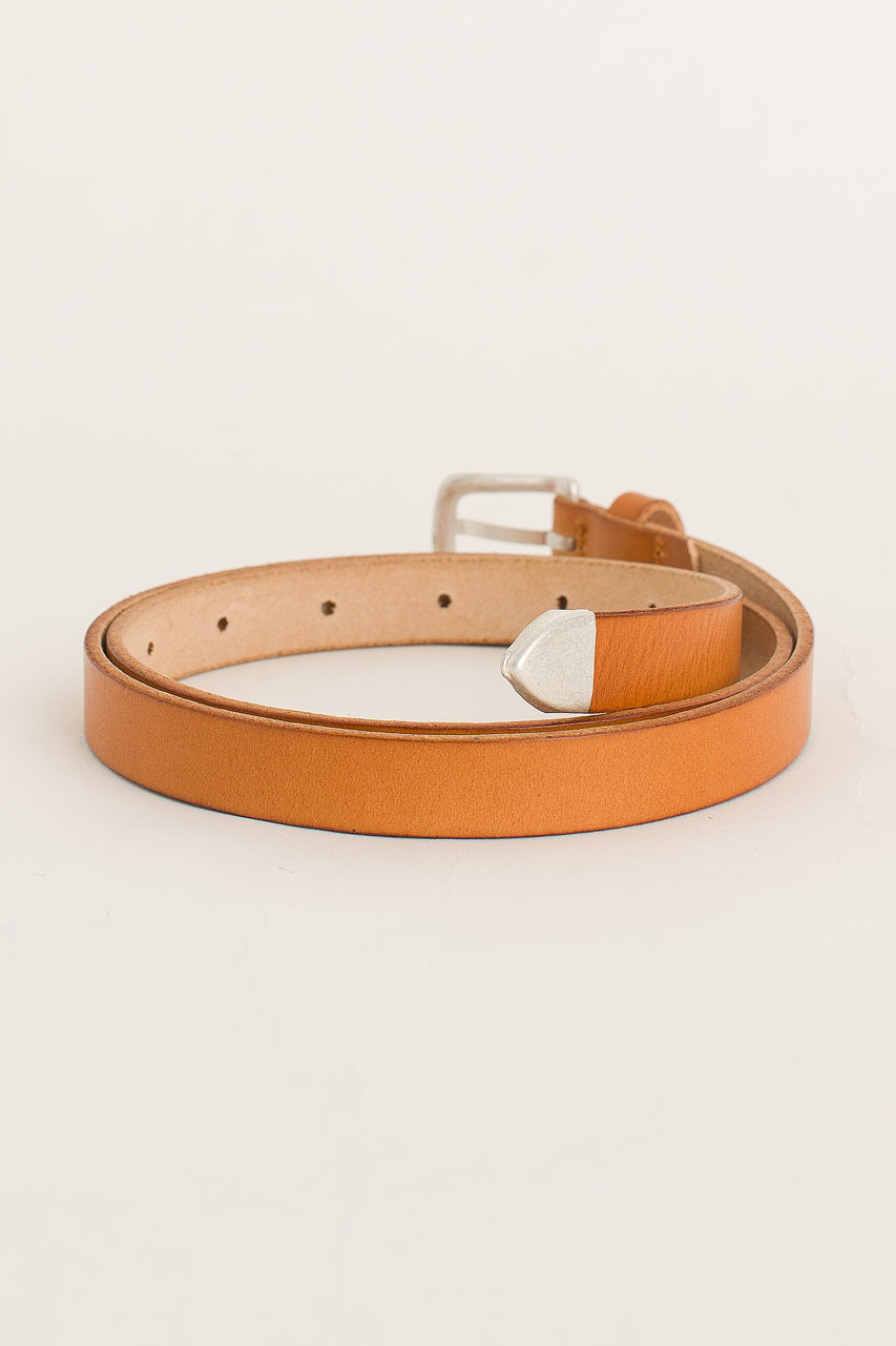 Rosa Leather Belt, Camel