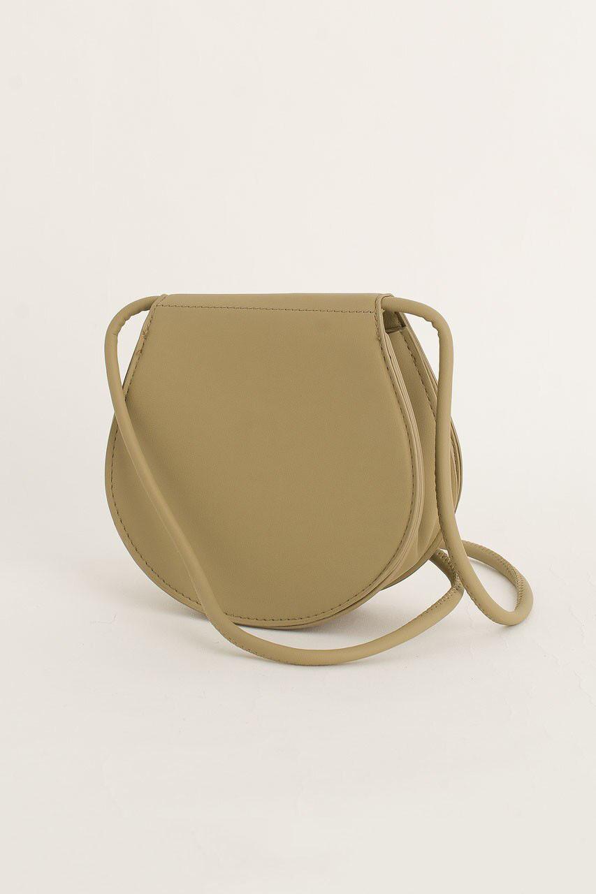 Momo Mini Round Bag, Mint