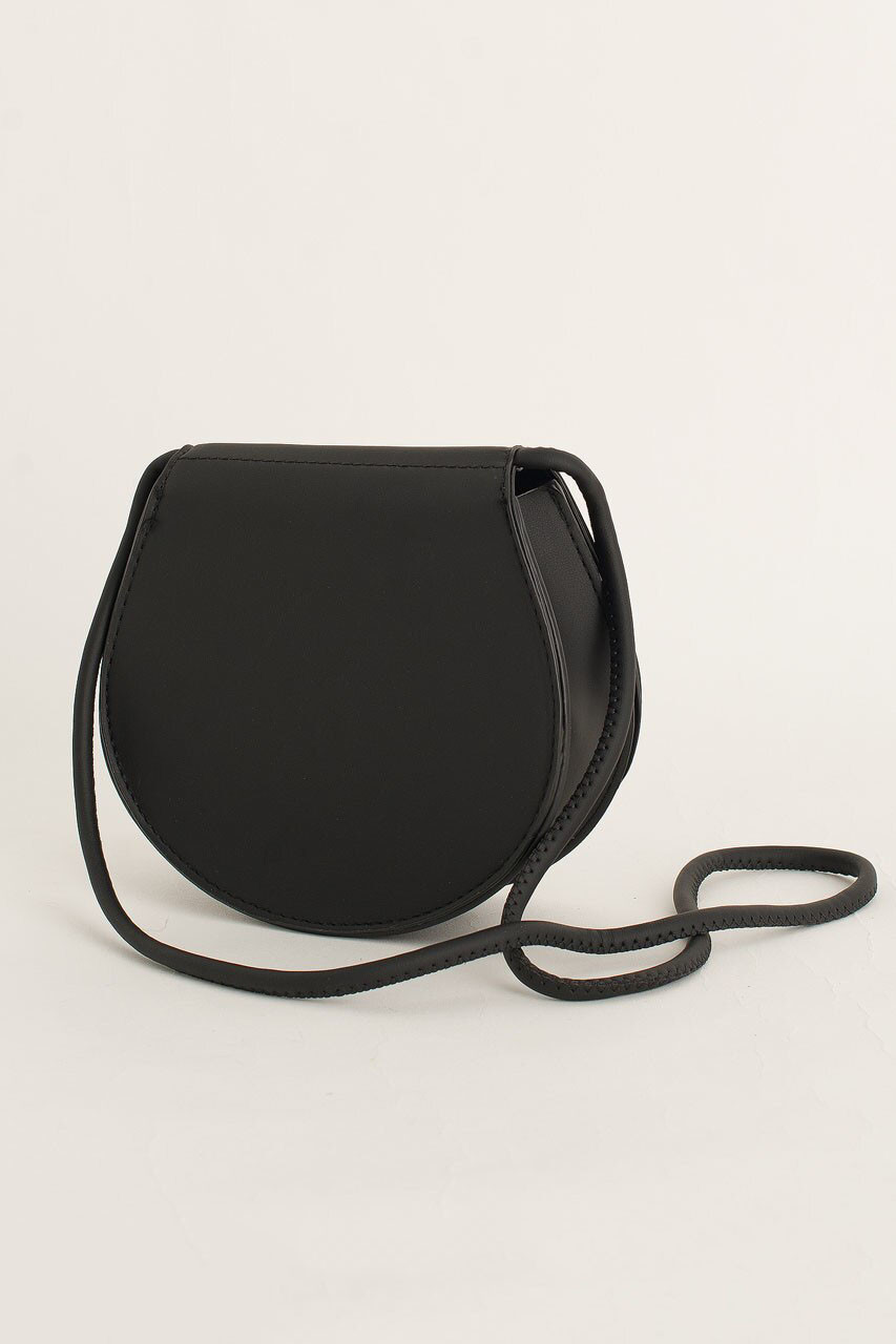 Momo Mini Round Bag, Black