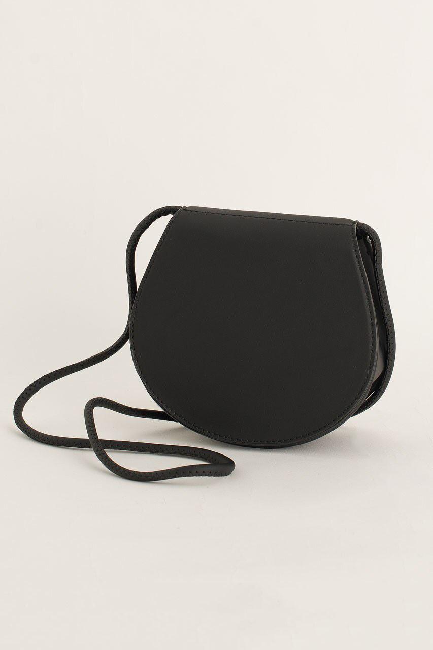 Momo Mini Round Bag, Black