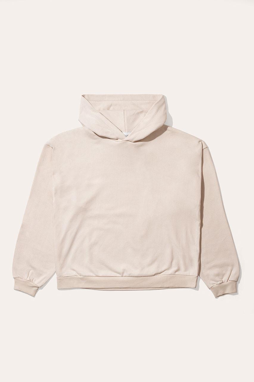 Menswear   Pullover Hoodie, Ivory