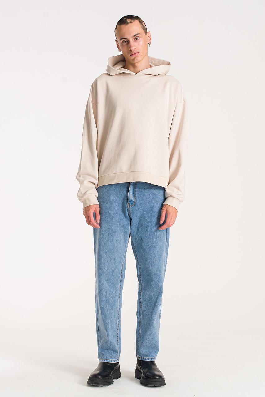 Menswear | Pullover Hoodie, Ivory