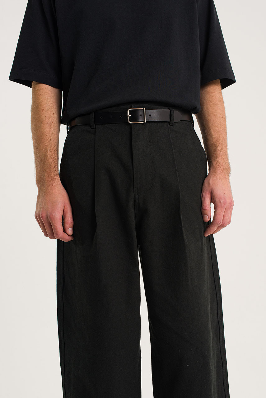 Menswear | Cotton Cargo Pants, Black