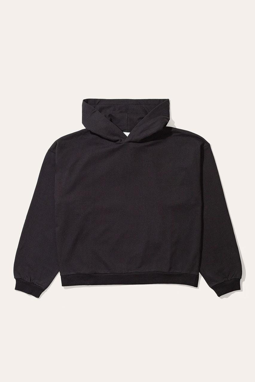 Menswear   Pullover Hoodie, Black