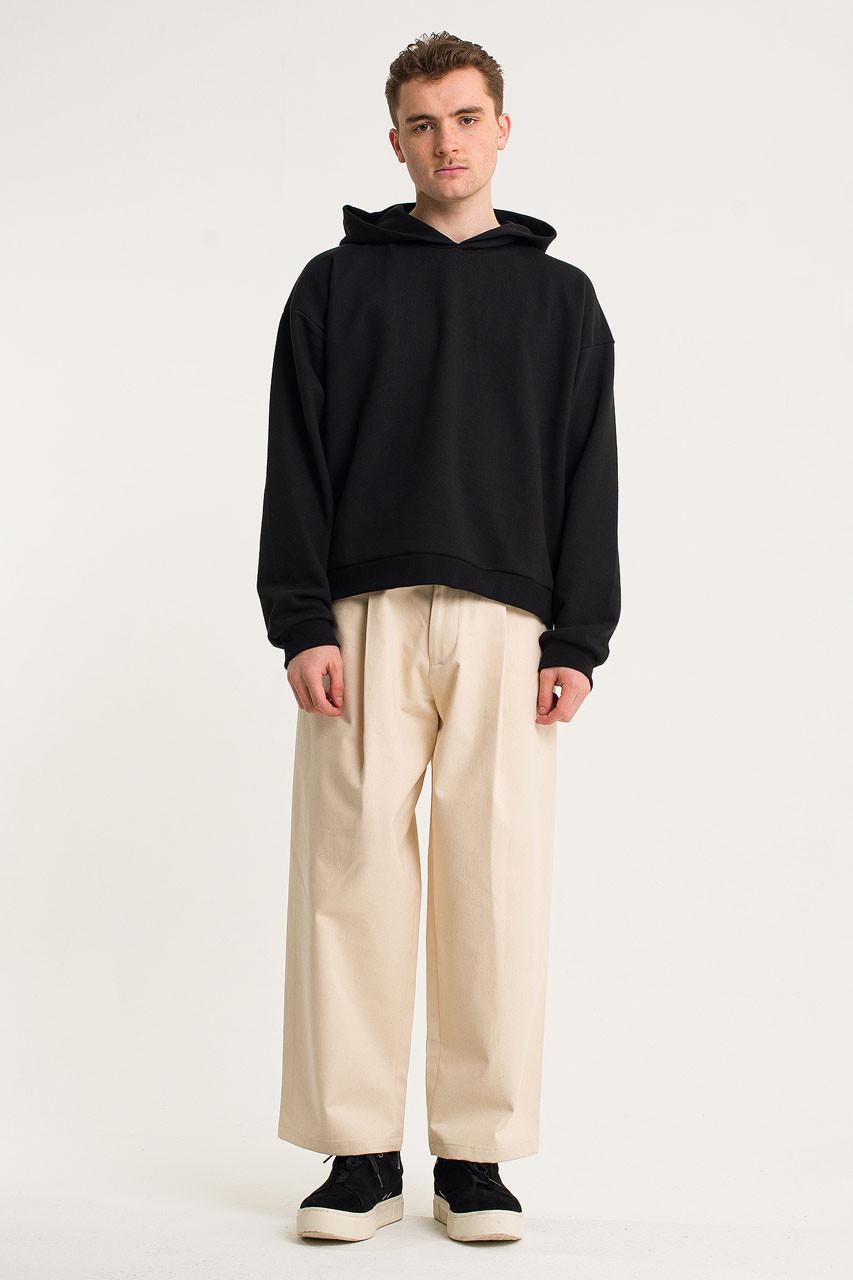 Menswear | Pullover Hoodie, Black