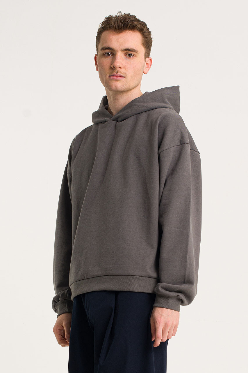 Menswear | Pullover Hoodie, Charcoal