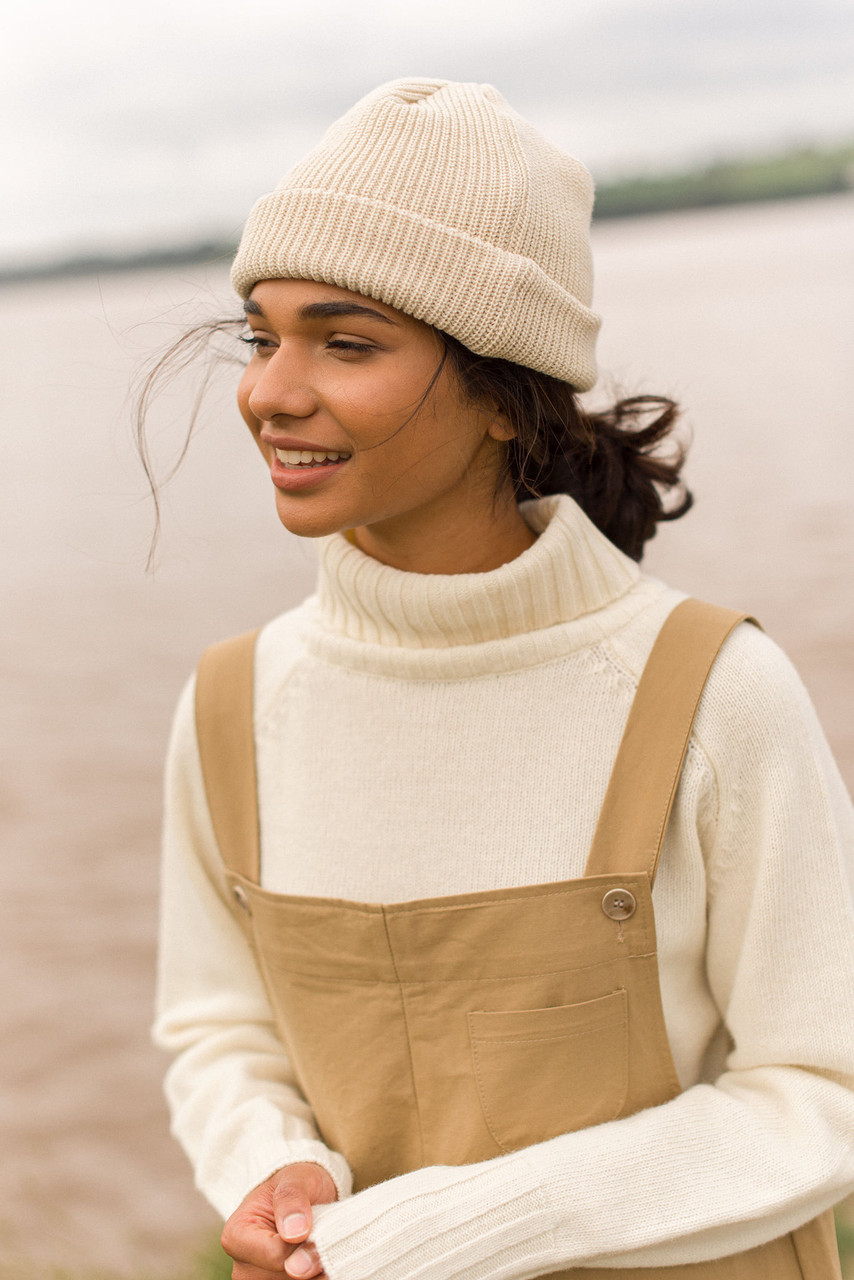 Simple Roll Neck Jumper, Y.Ivory