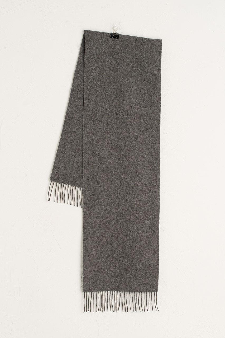 A/W 20 Mini Wool Scarf, Dark Grey