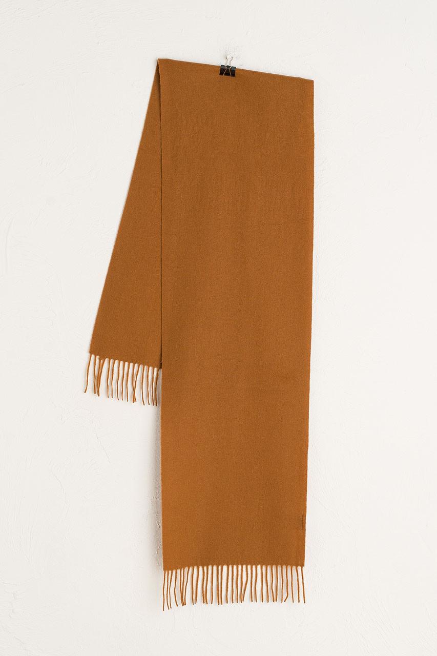 A/W 20 Mini Wool Scarf, Amber