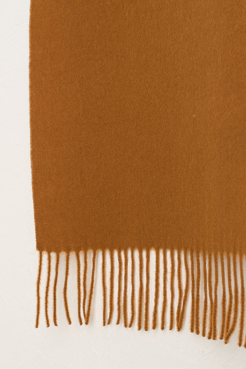 A/W 20 Mini Wool Scarf, Amber