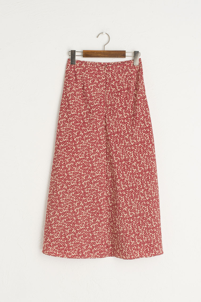Eunha Flower Skirt, Beige