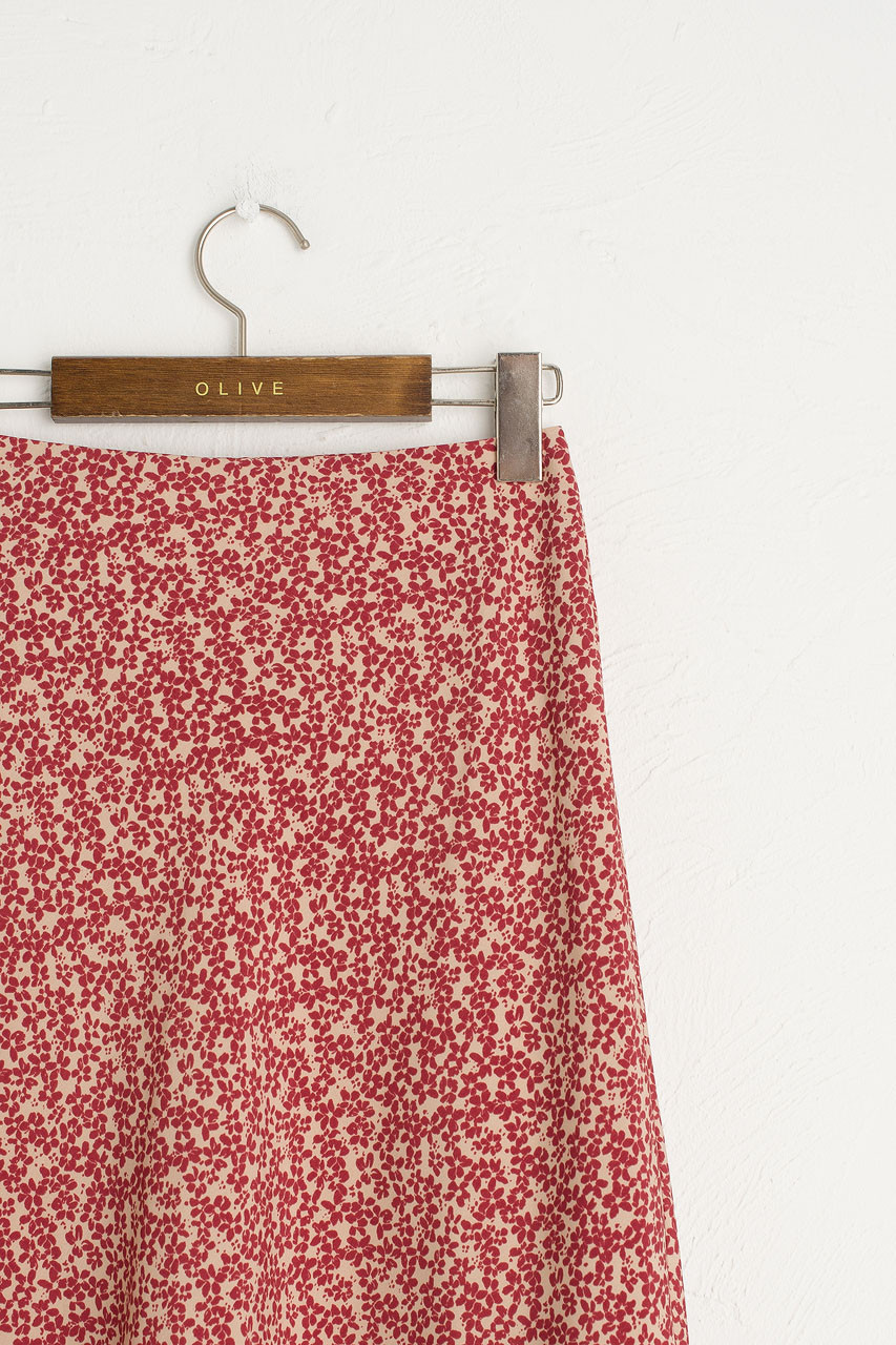 Eunha Flower Skirt, Beige