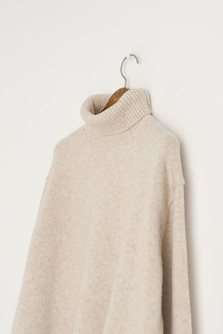 Jane Turtle Neck Jumper, Oatmeal