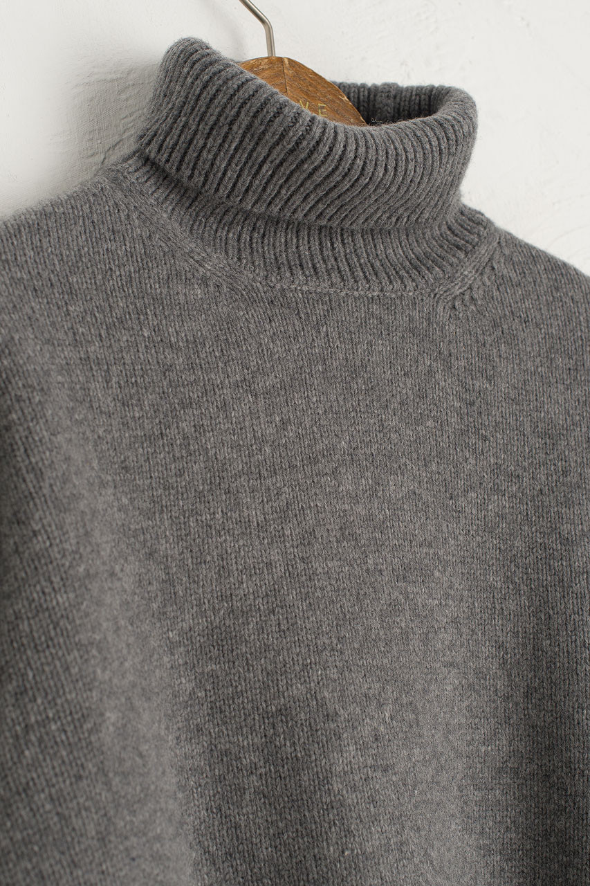 Jane Turtle Neck Jumper, Grey