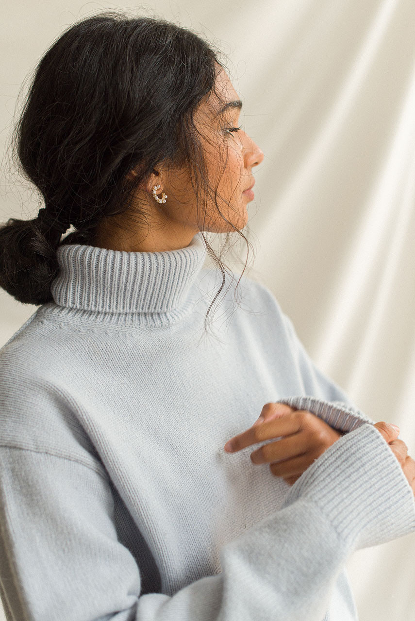 Jane Turtleneck Jumper, L.Sky