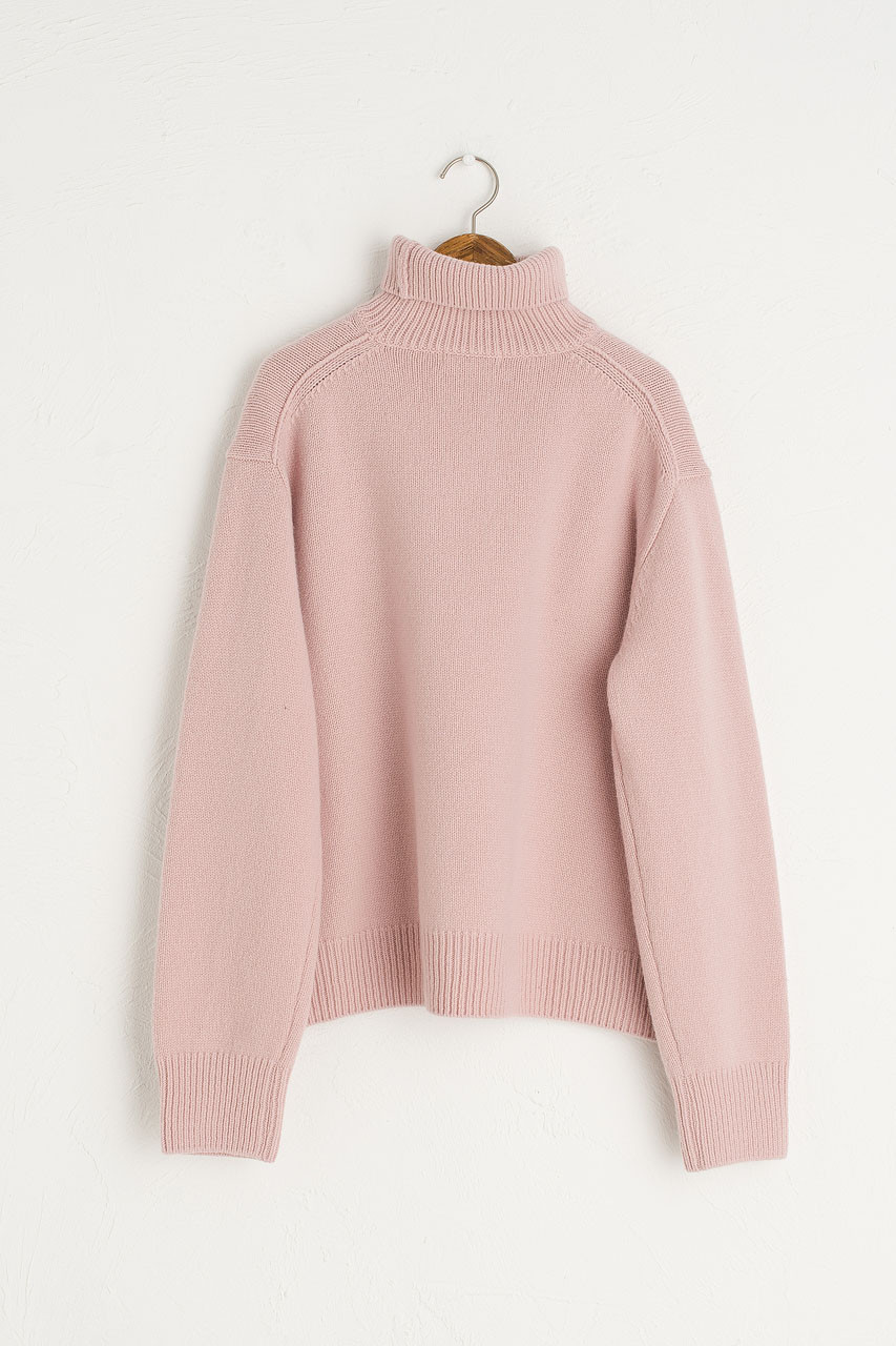 Jane Turtle Neck Jumper, L.Pink