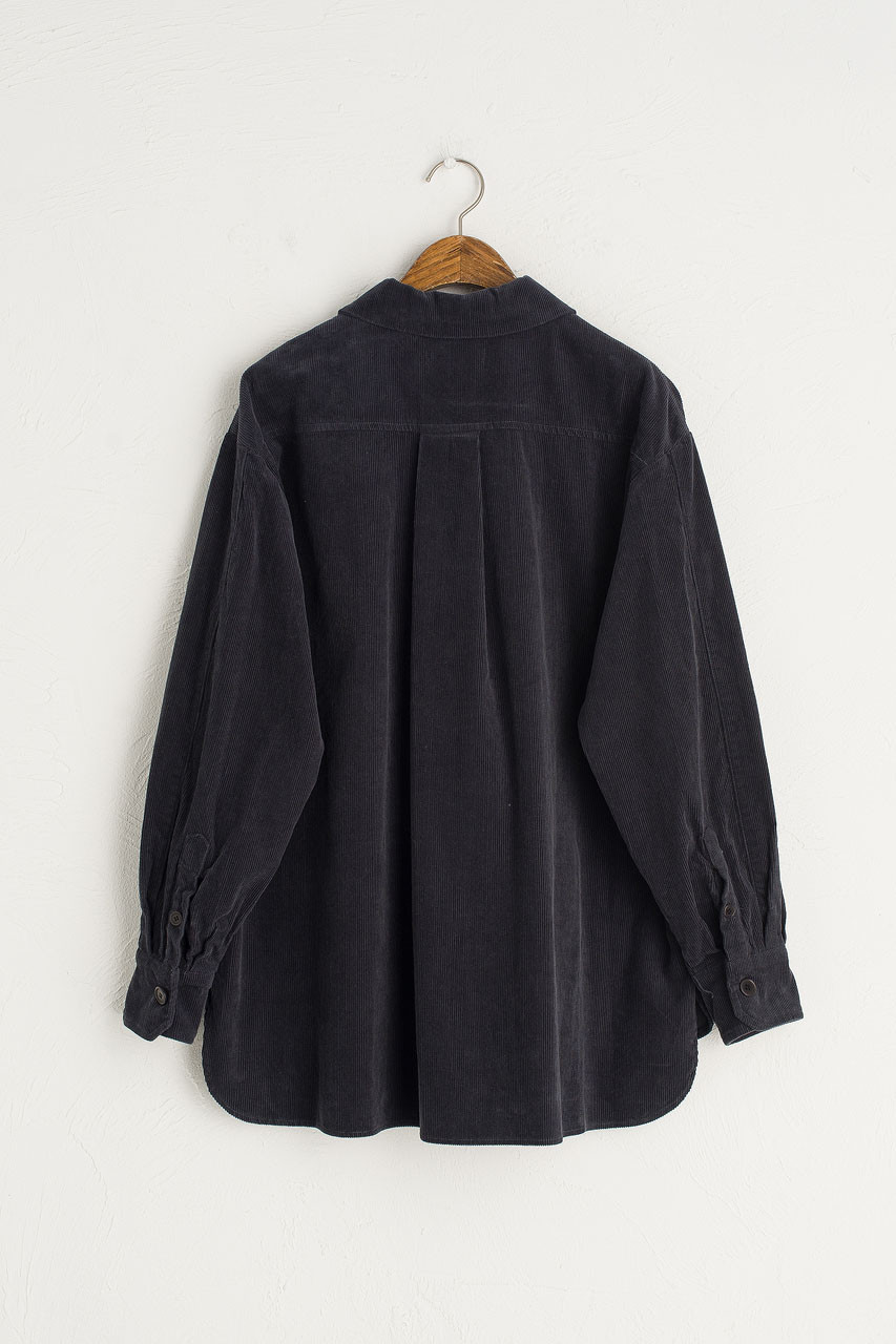 Cord Work Shirt, Navy
