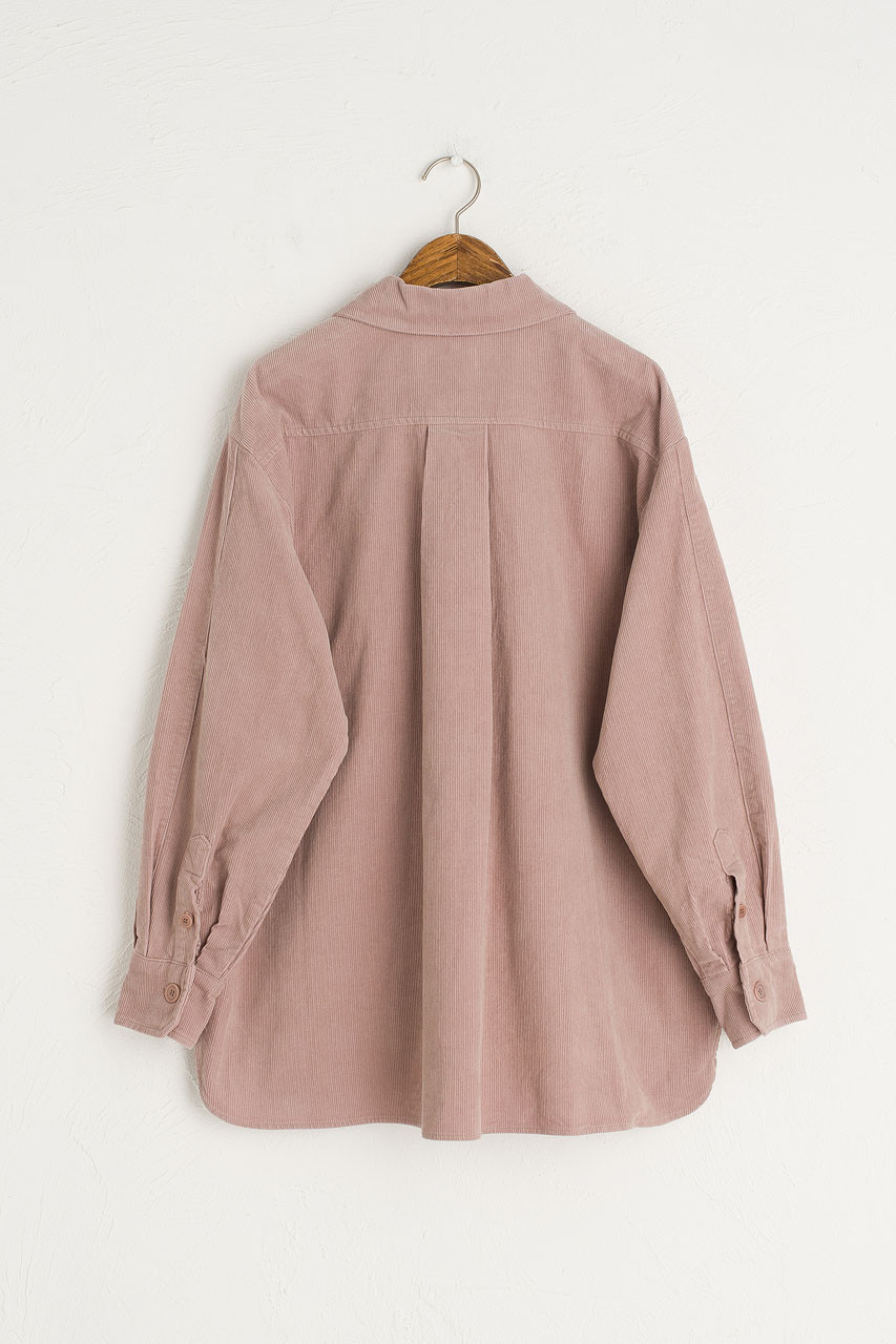 Cord Work Shirt, Pink