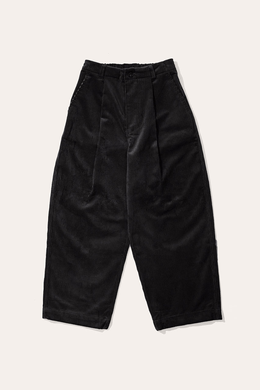 Menswear | Balloon Cord Pants, Black