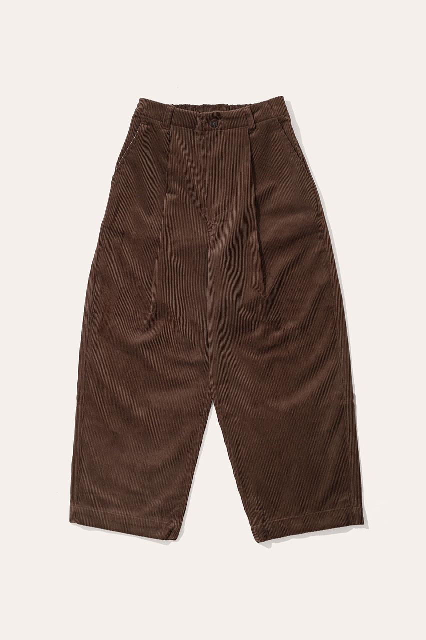Menswear | Balloon Cord Pants, Chocolate