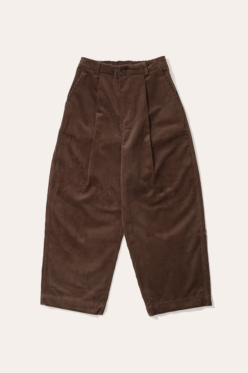 Menswear | Balloon Cord Pants, Chocolate