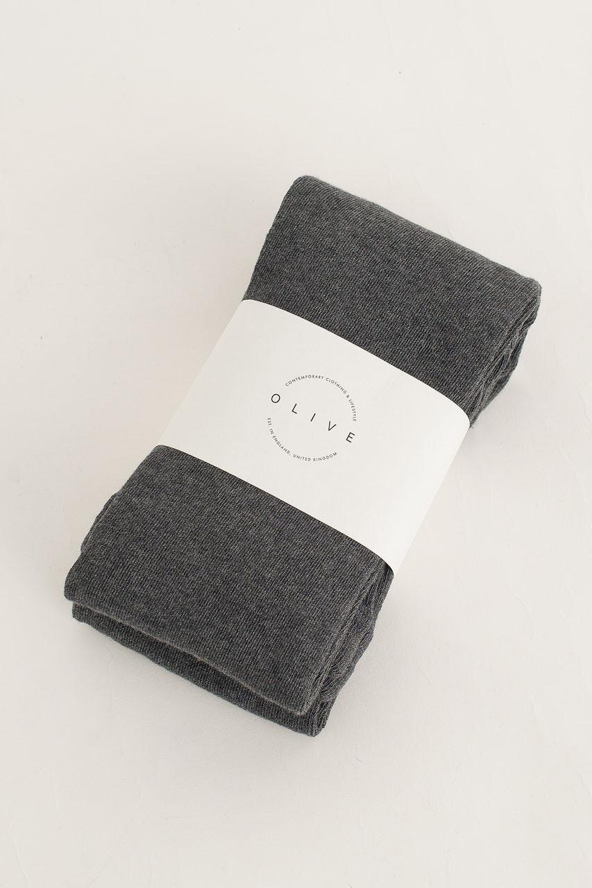 Simple Tights, Grey