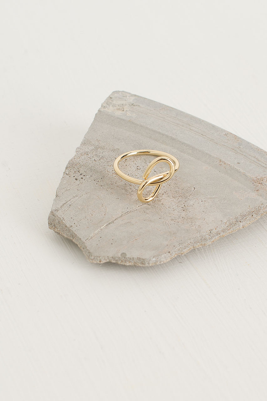 Knot Ring, Gold