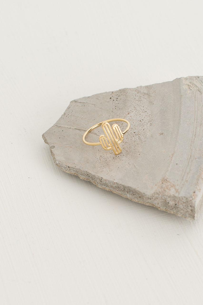 Cactus Ring, Gold