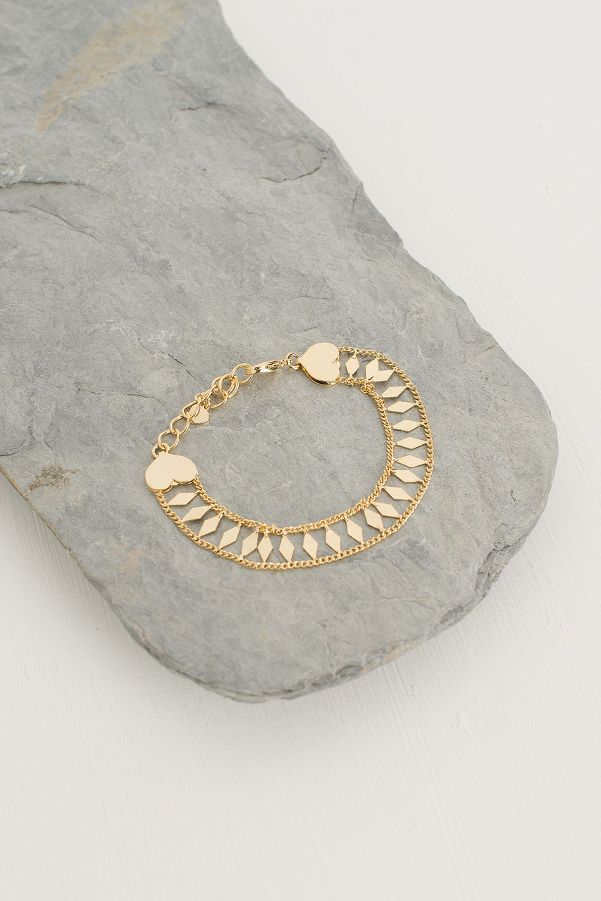 LŽa Chain Bracelet, Gold