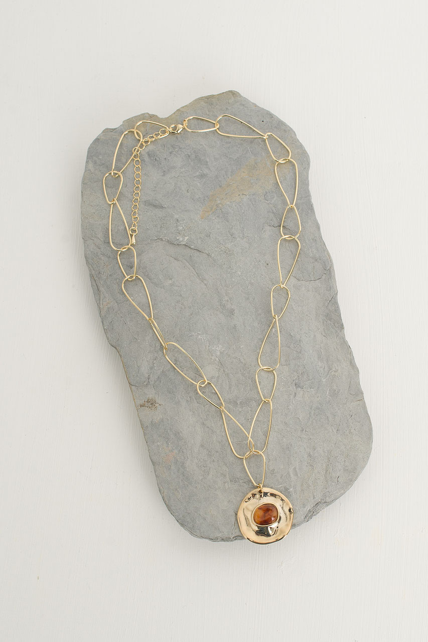 Marion Chain Necklace, Gold