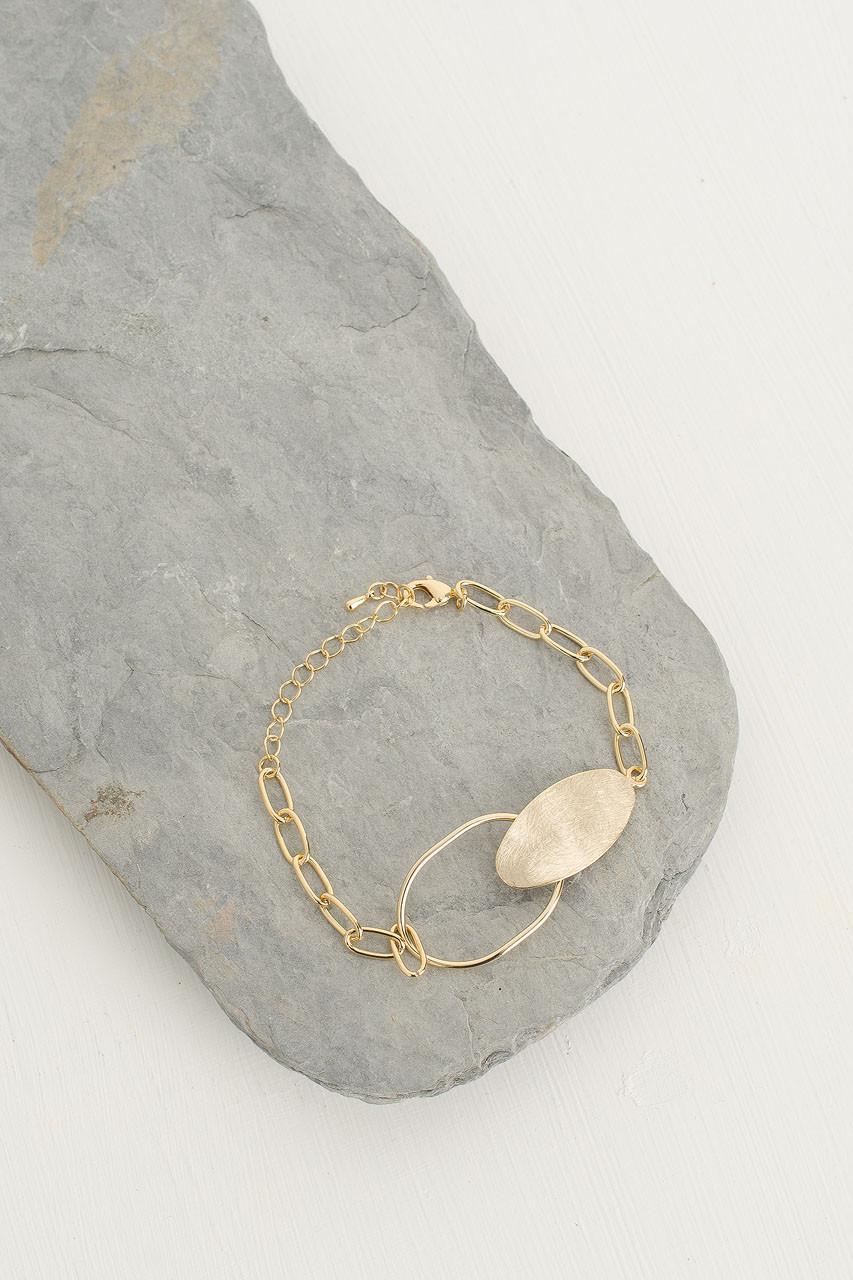 Cleo Chain Bracelet, Gold
