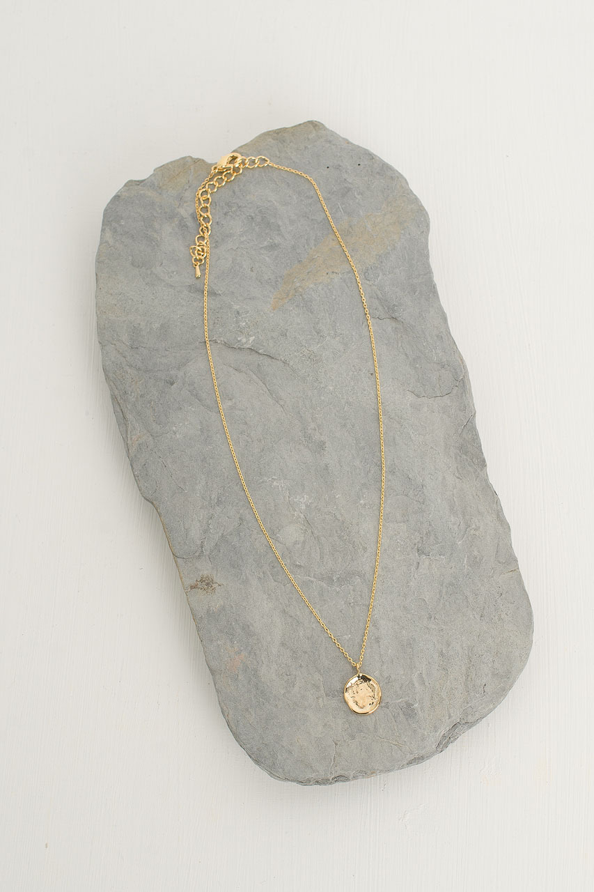 Miou Necklace, Gold