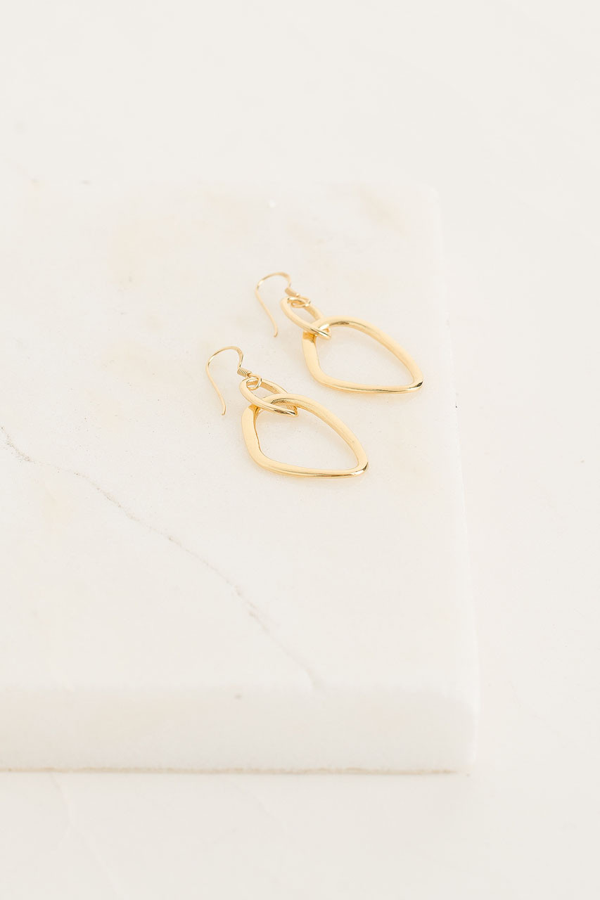 Pabloa  Earrings, Gold