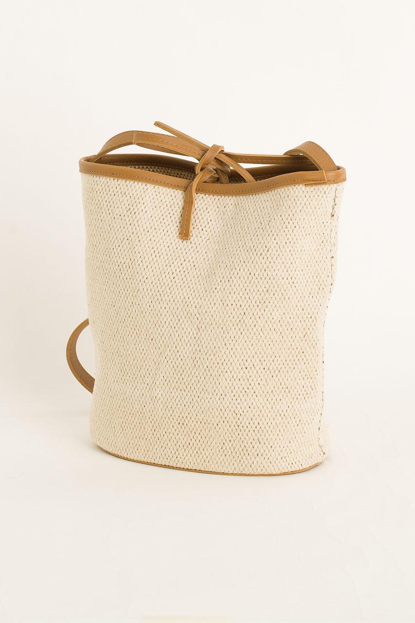 Bucket Bag, Ivory