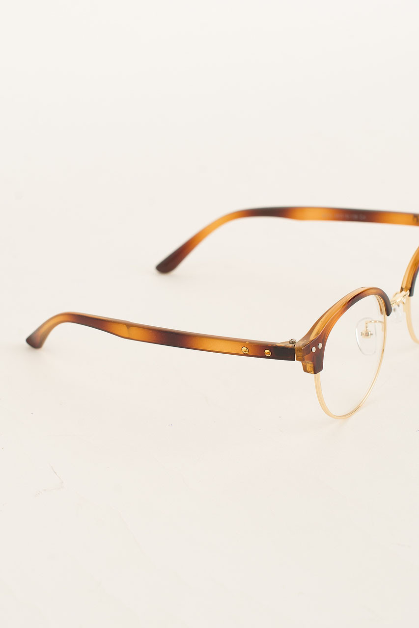Christo Cat Eye Glasses, Brown